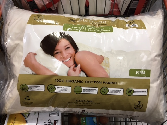 organic pillow at costco 2 pack queen