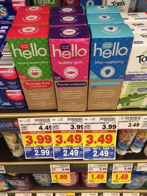 hello toothpaste kroger