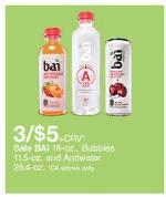 bai beverage at target
