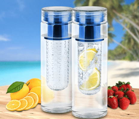 groupon fruit infused water bottles and pitchers
