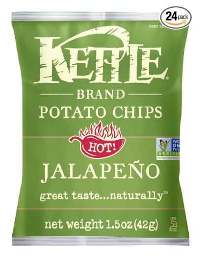 kettle chips $.50 a bag