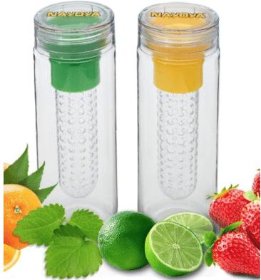 fruit infuser water bottles $6