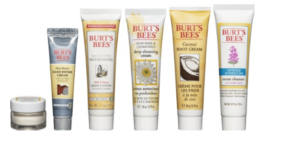 burt's bees travel set
