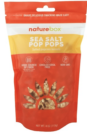 free nature box snacks
