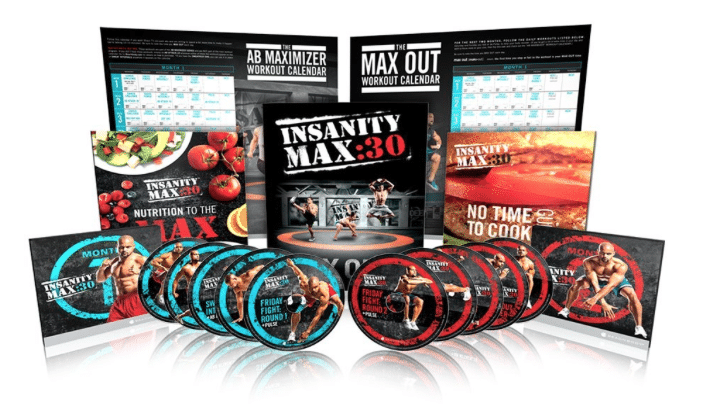 shaun t insanity max workout dvd lowest price deal