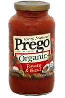 prego organic coupon