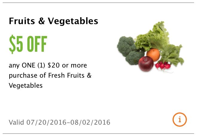 Fresh produce coupon code