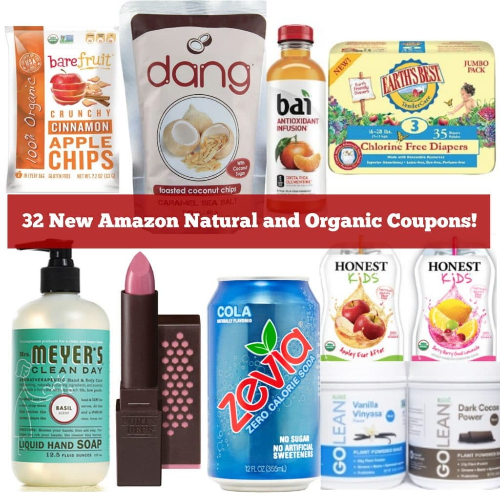 amazon natural and organic coupons july 2016
