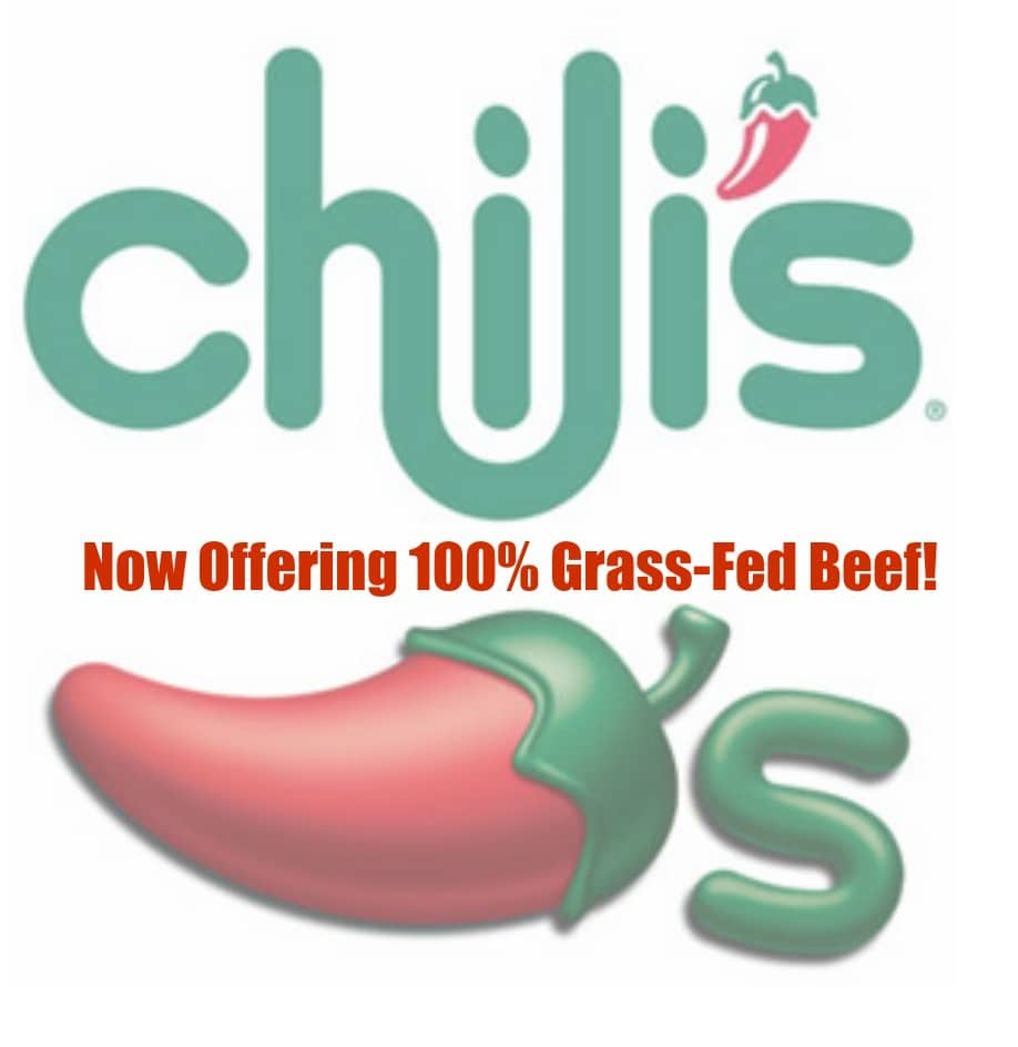 chili's restaurant grass fed beef and cage free eggs