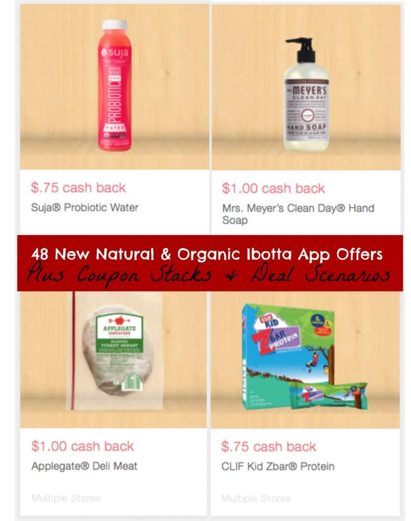 48 new ibotta app offers organic