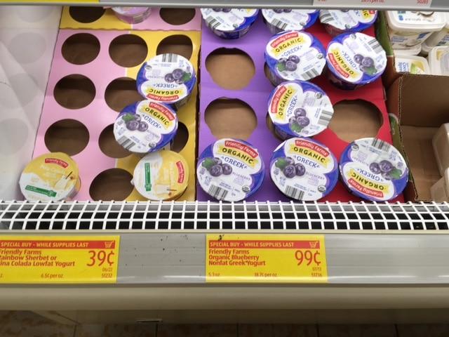 organic yogurt aldi
