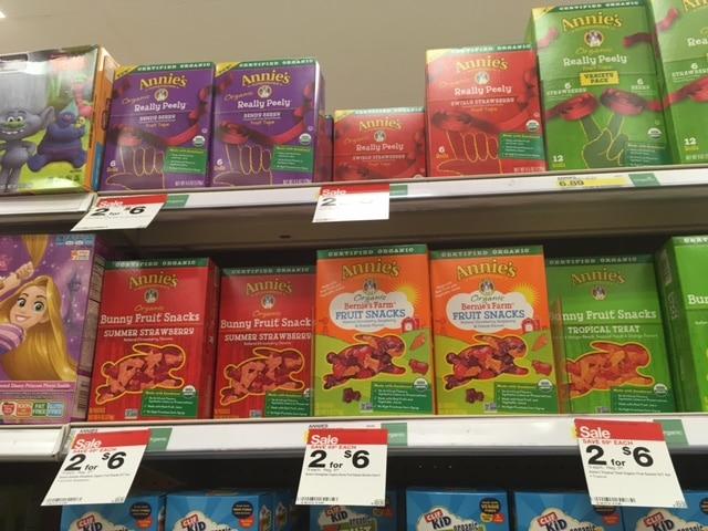 annies fruit snacks target