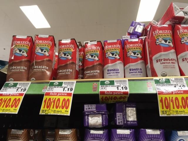 horizon organic singles milk kroger