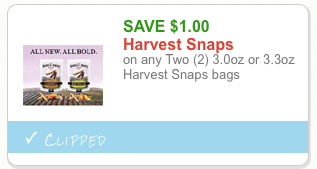 harvest snaps coupon