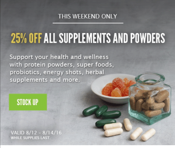 whole foods protein powder sale