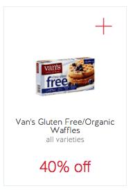 van's waffles target