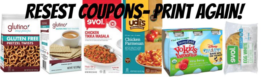 reset organic coupons
