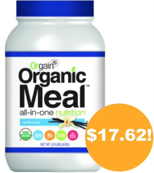 orgain organic protein amazon coupon