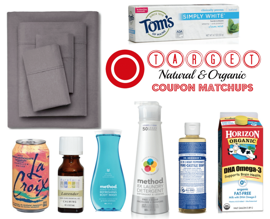 target organic coupons matchups and deals 8/28