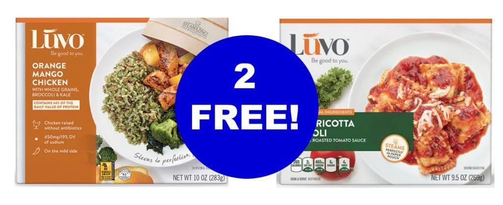 free luvo kroger mega event organic