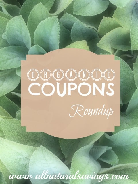 organic coupons