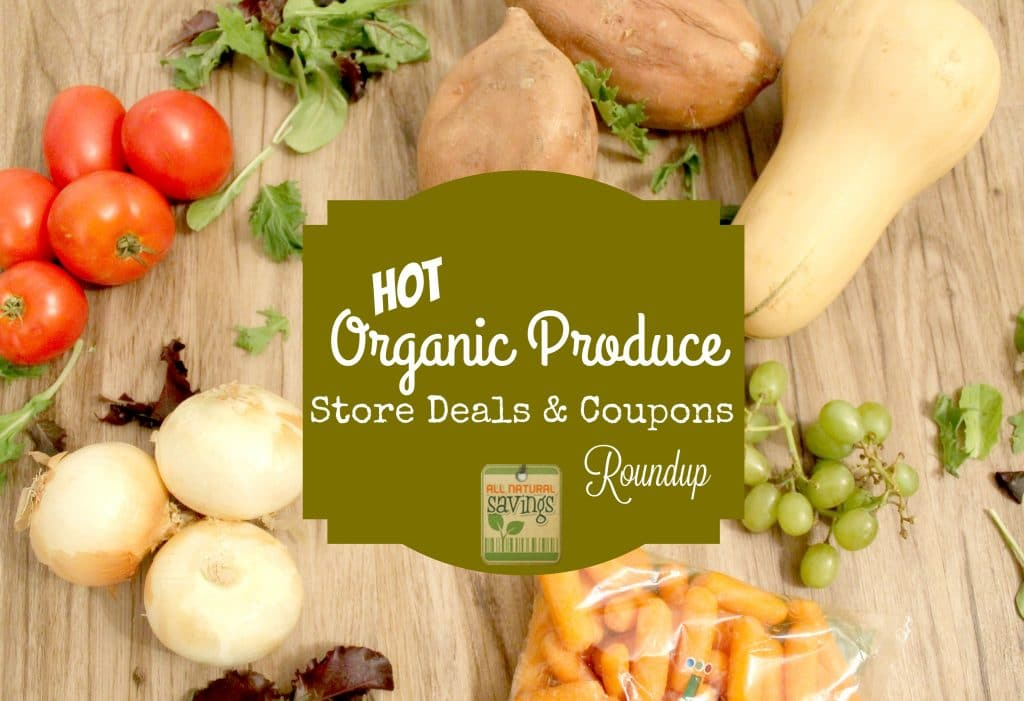 organic produce coupons and deals