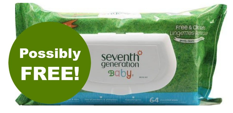 seventh generation free baby wipes