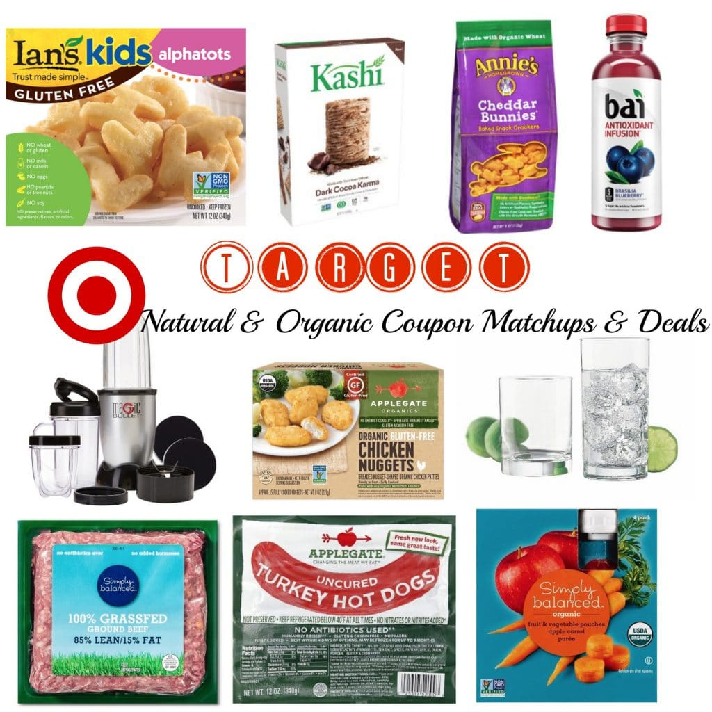 target natural and organic coupons and deals august 7 2016