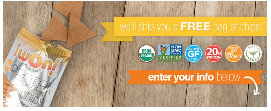 free organic chips freebies