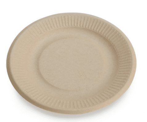 unbleached paper plates tree-free
