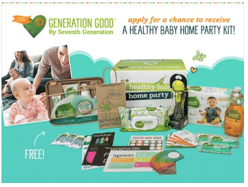 seventh generation healthy baby home party 2016