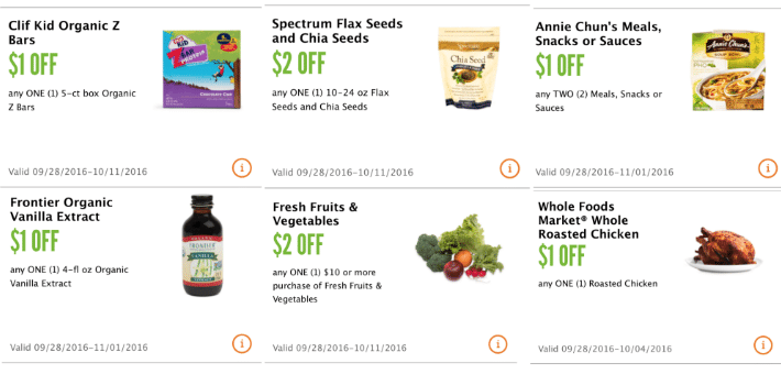 new whole foods coupons