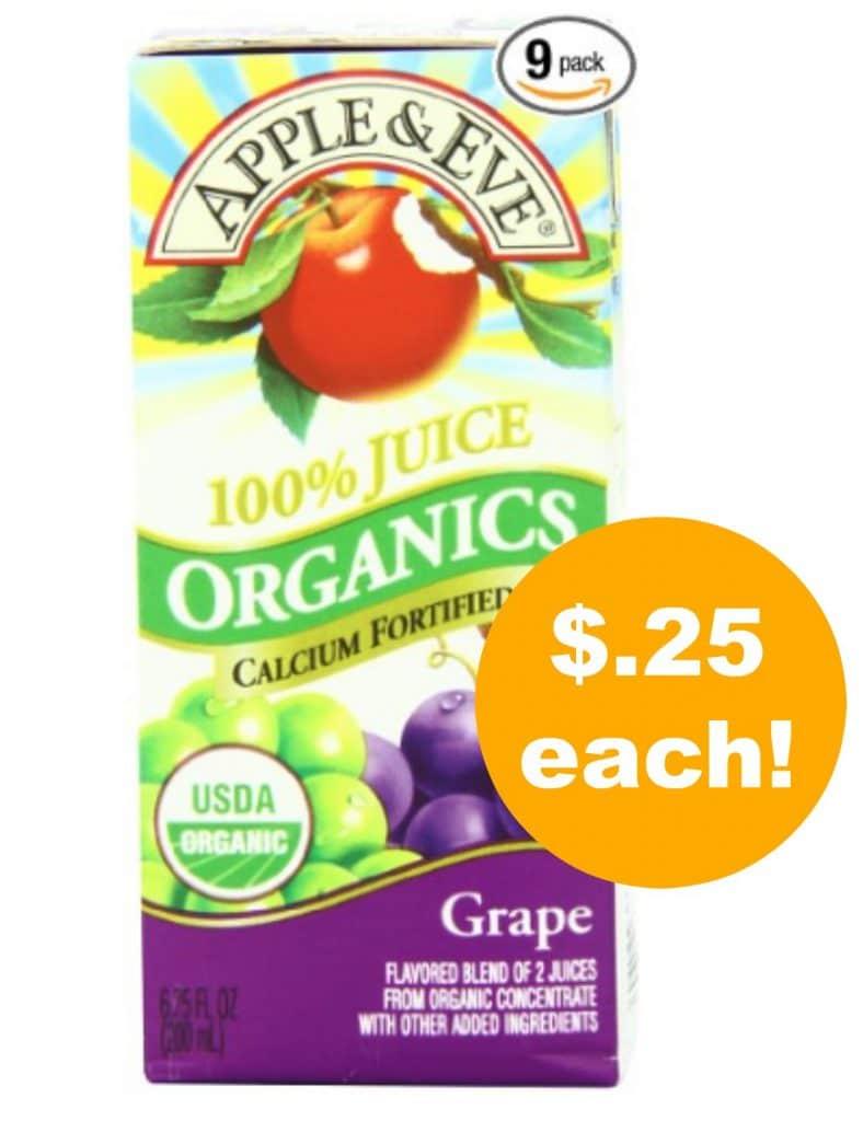apple-and-eve-organic-juice-deal