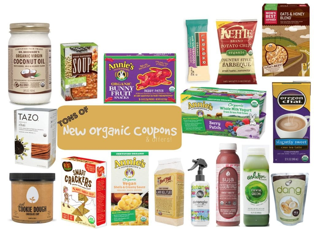 september 2016 new organic coupons