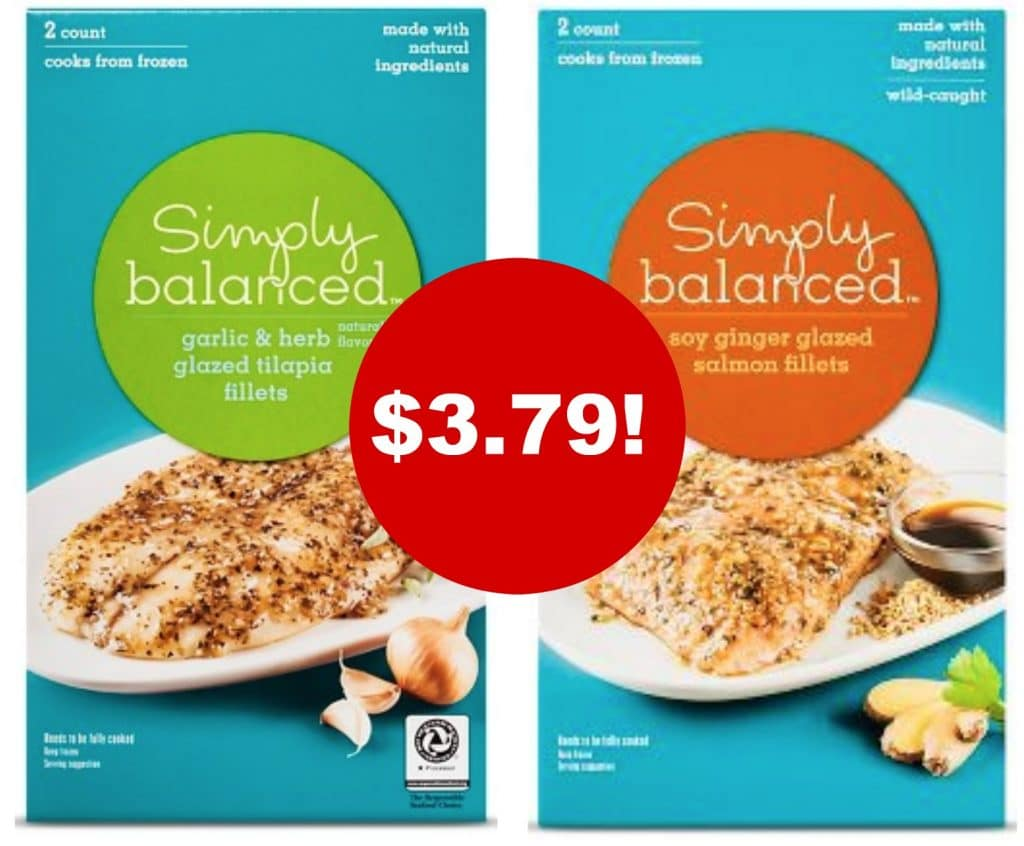 Simply balanced fish sale at target tilapia for Whole foods fish on sale this week