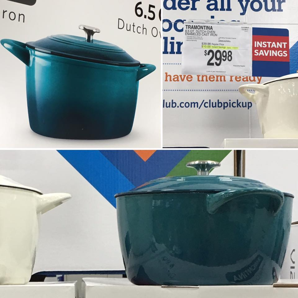 cast iron dutch oven sam's club