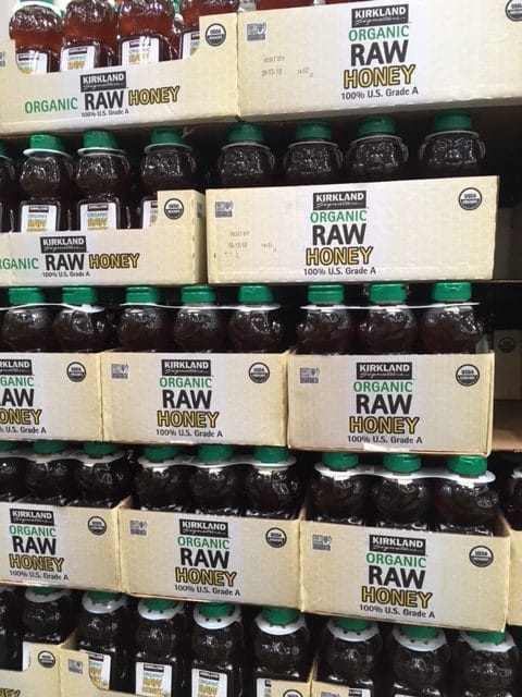 costco raw organic honey