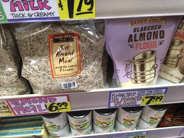 blanched almond meal trader joe's