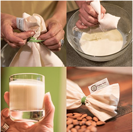 make your own nut milk bag