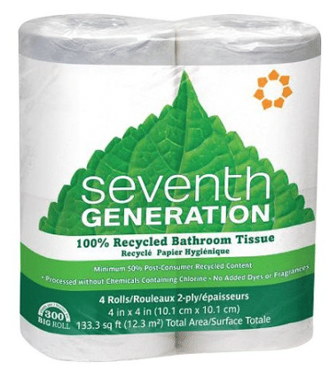 seventh generation toilet paper
