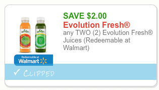 evolution fresh organic juice coupon