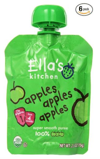 ella's kitchen organic pouches