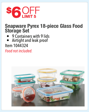 Pyrex coupon code