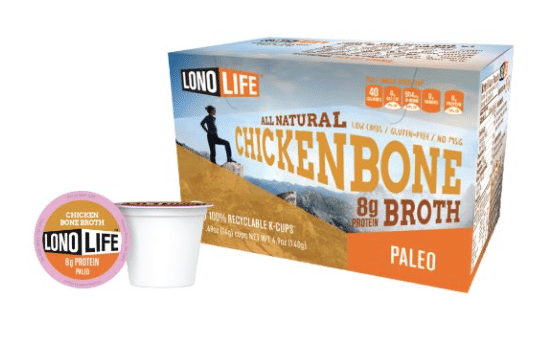chicken bone broth k-cups