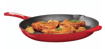 cast iron grill pan frying aldi