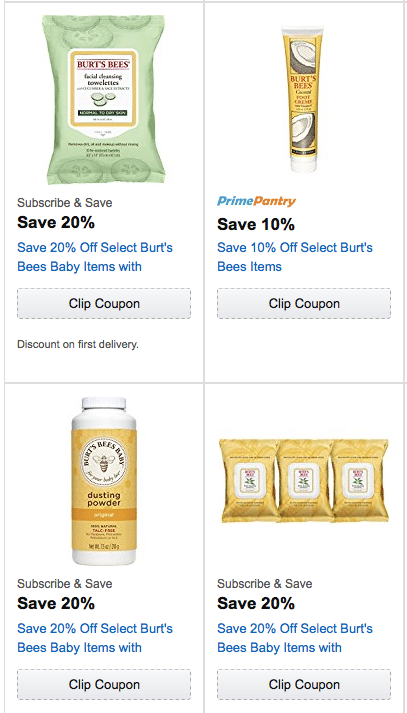 Burts bees coupon code