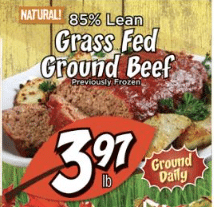 fresh thyme grass fed beef sale