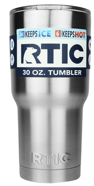 stainless steel coffee mug tic