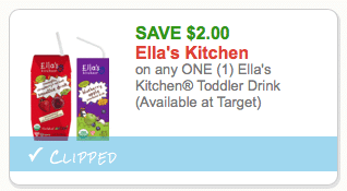 $2 Ella's Kitchen coupon