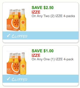 izze coupons